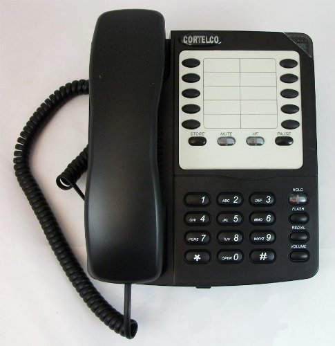 Cortelco 220300-Vba-27s Colleague Speakerphone Bk by Cortelco