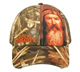 Outdoor Cap Duck Dynasty Realtree Max-4 Camo Phil Sublimated Left Panel Cap Hat