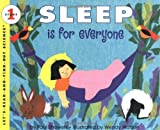 img - for Sleep Is for Everyone (Let's-Read-and-Find-Out Science 1) book / textbook / text book
