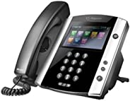 Polycom VVX 600 16-Line Phone with Power Supply (Renewed)