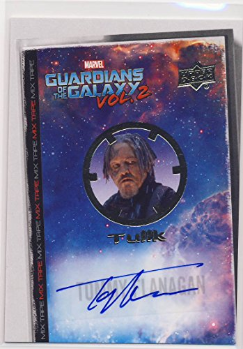 2017 Guardians of the Galaxy Series 2 Trading Card Set Autograph MT11 Tommy Flanagan