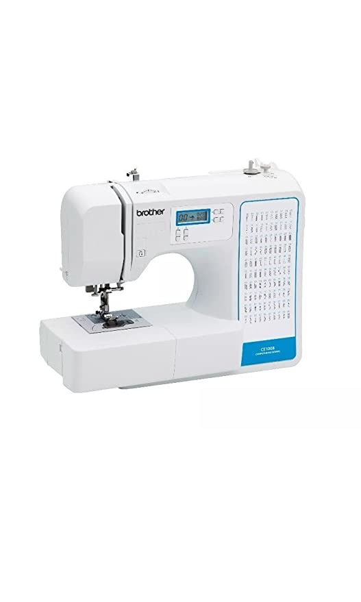 Amazon Brother 40 Stitch Computerized Sewing Machine CE408 Custom Brother Project Runway Sewing Machine Ce1100prw