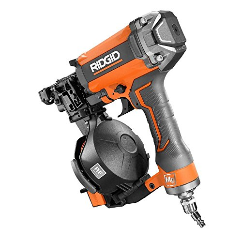 Ridgid 15-Degree 1-3/4″ Coil Roofing Nailer – R175RNF – (Bulk Packaged)