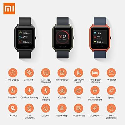 Amazfit Pace - Smartwatch con GPS Multideporte 1.34 Táctil ...