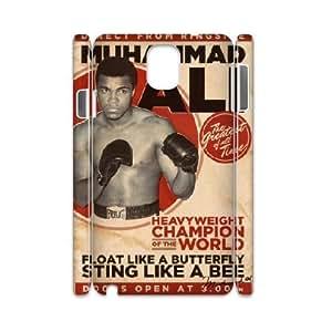 Custom Samsung Galaxy Note3 N9000 Cover, Personalized Samsung Galaxy Note3 N9000 3D Case - Muhammad Ali