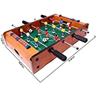 Taaza Garam Foosball Table for Indoor Football Soccer Game (E-Up-774, Brown)