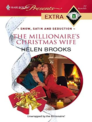 book cover of The Millionaire\'s Christmas Wife