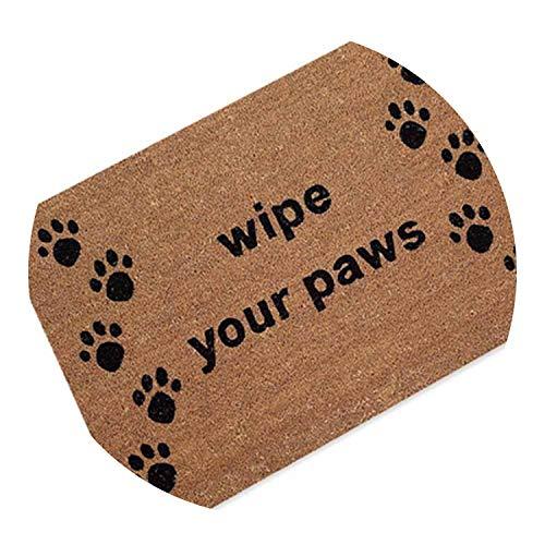 Cartoon Cats Print Rubber Non-Slip Doormat Area Rug Outdoor Bathroom Kitchen Small Carpet,7,45cmx70cm