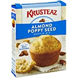 Krusteaz Almond Poppy Seed Supreme Muffin Mix, 17-Ounces