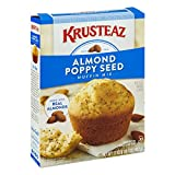 Krusteaz Almond Poppy Seed Muffin Mix, 17-Ounce Boxes (Pack of 12)