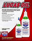 Lucas 10011 Power Steering Stop Leak - 32 oz, White