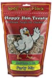 Happy Hen Treats 17015 Poultry Mix, Mealworm & Oats, 2-Lbs. - Quantity 6