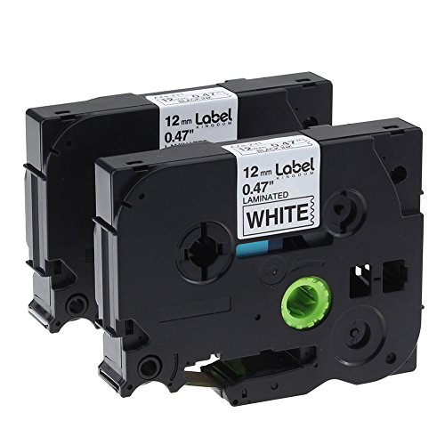 Label KINGDOM 2 Pack P Touch Label Tape Compatible for sale  Delivered anywhere in USA