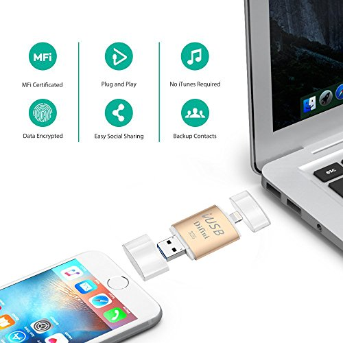 jump drive for iphone difini usb flash drive memory stick 32gb with lightning 5591