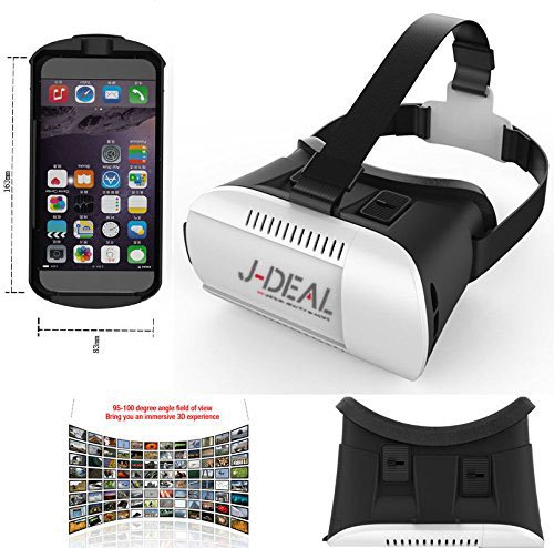 Amazon J Deal Large Fov 3d Vr Virtual Reality 3d Video Glasses