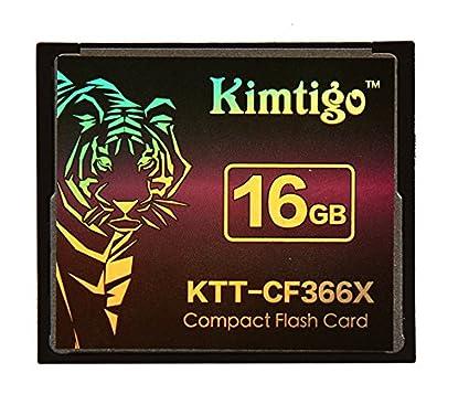 16 GB Compact Flash tarjeta Compact Flash tarjeta Kimtigo CF ...