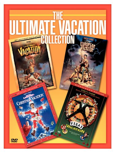 Ultimate Vacation Collection (Vacation / European Vacation / Christmas Vacation / Vegas Vacation) by Warner Manufacturing
