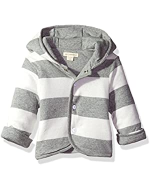 Baby Reversible Organic Snap Front Jacket
