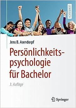 Book Persönlichkeitspsychologie für Bachelor (Springer-Lehrbuch)