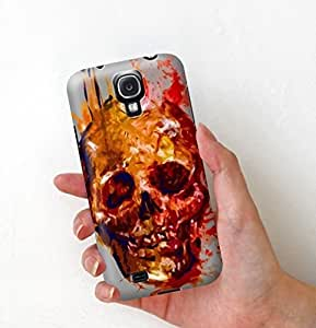 S4 Case, Samsung Galaxy S4 i9500 Case with skull 3D print (affordable price)