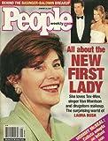 Laura Bush, Kim Basinger and Alec Baldwin, Penelope Cruz - January 29, 2001 People Weekly Magazine