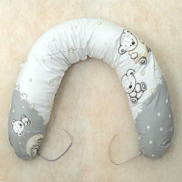 Stillkissen mit FillBall 170-190cm Baby Lagerungskissen Kinderzimmer Kissen