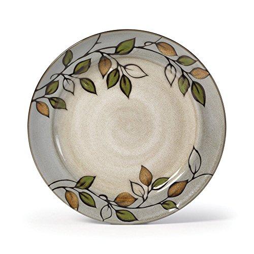 Pfaltzgraff Rustic Leaves Dinner Plate, 11-Inch
