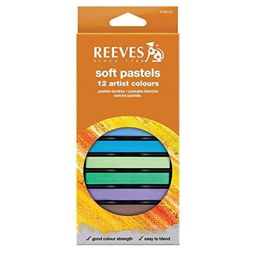 Reeves 12 Colors Soft Pastel Set