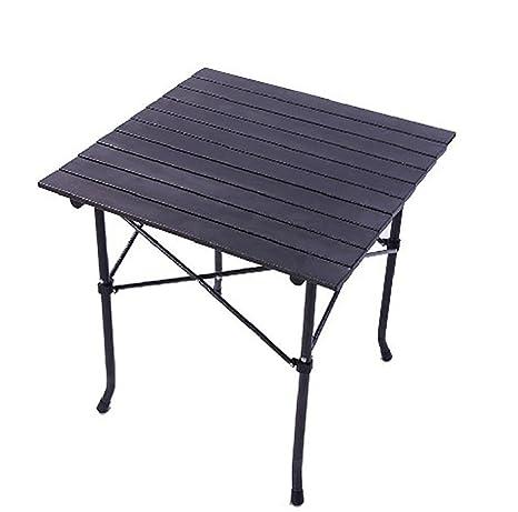 Tavolo Campeggio Alluminio Avvolgibile.Ruirui Tavolino Campeggio Camping Tavolino Avvolgibile In Alluminio