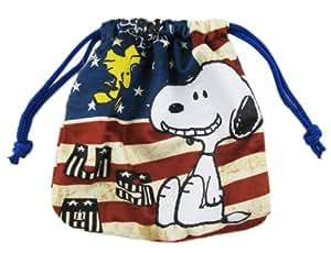 Amazon Com Usa Peanuts Snoopy Drawstring Marbles Travel