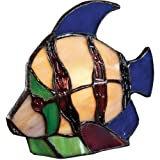 Quoizel TFX1520T Vintage Tiffany 1-Light Fish Table Lamp Review