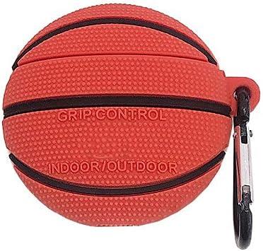Suweqi Funda Protectora de Silicona Suave para balón de Baloncesto ...