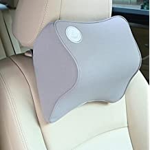 Tpfocus Memory Cotton Car Neck Pillow Comfortable Pillow Car Headrest - Gray