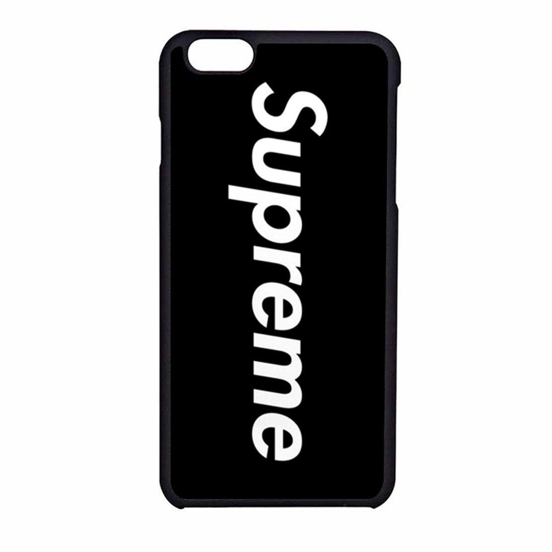 size 40 73498 8f944 Black Supreme iPhone 6/6s Case (Black Rubber)