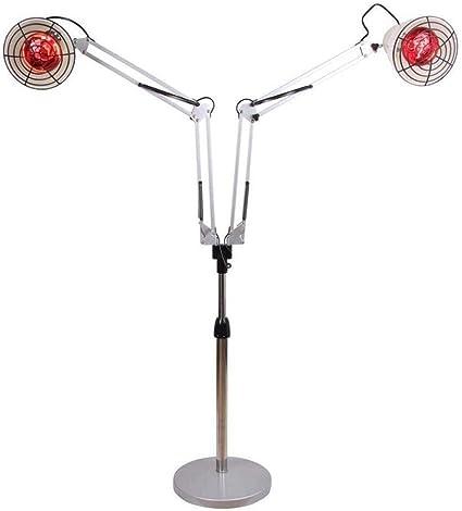 lquide 2 tête Infrarouge Lampe chauffante Rouge Traitement
