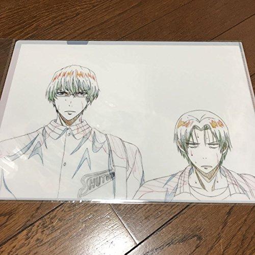 黒子のバスケ 黒バス プロダクションI.G 原画 クリアファイル 緑間真太郎 高尾和成 2の商品画像