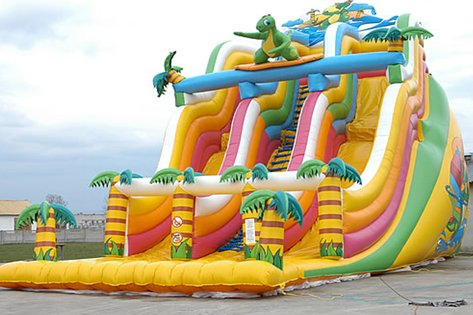 Inflatable slide inflatable bouncer inflatable trampoline inflatable castles (Inflatable Castle)
