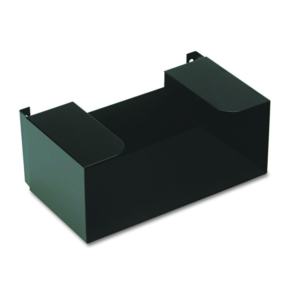 MMF Industries Steel Deposit Ticket Holder, Powder Coated Finish, 10 x 4 x 6 Inches, Black (268067004)