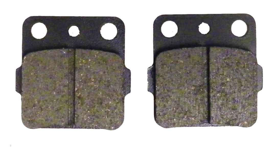 Brake Pads Yamaha ATV 600 Grizzly 1998-2001 / 660 Grizzly 2002-2008 / 660 Raptor 2001-2005 Rear WSM 09-5067E OEM# 06435-HA5-670 by Pwc Engine (Image #1)