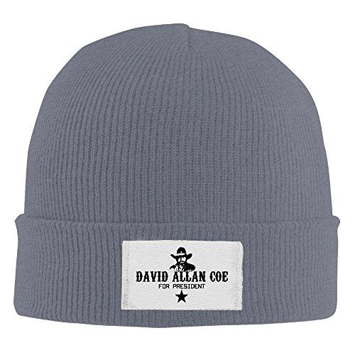 David Allan Coe Wool Hat Winter Hats Winter 2016 Woolen Cap MensBeanies WinterHats