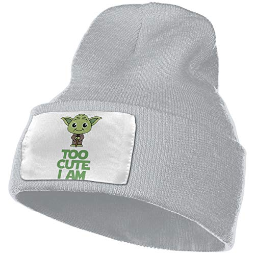 Star Wars Cute Yoda Baby Onesie Daily Beanie Hat Outdoor Skull Cap Warm Hat Knitted Beanies -