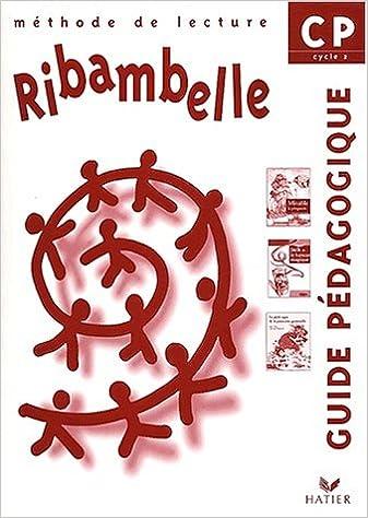 Livres Ribambelle : CP lecture, guide pédagogique, série verte pdf
