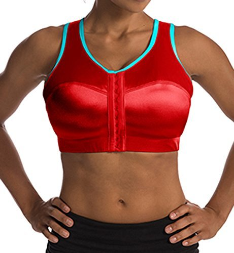 Enell High Impact Sports Bra (5, Rck it Red)