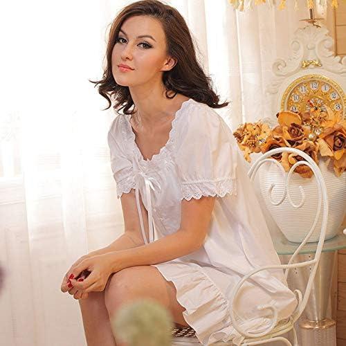 YPDM Pijama Verano,Ropa de Dormir para Mujer Camisones de algodón ...