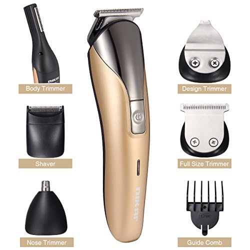 11 in 1 Men Electric Shaver, LuckyFine, Electric Razor Men, Hair Clipper, Rechargable Trimmer of Body, Ear, Nose, Beard Machine Set, Haircut Men's Personal Care