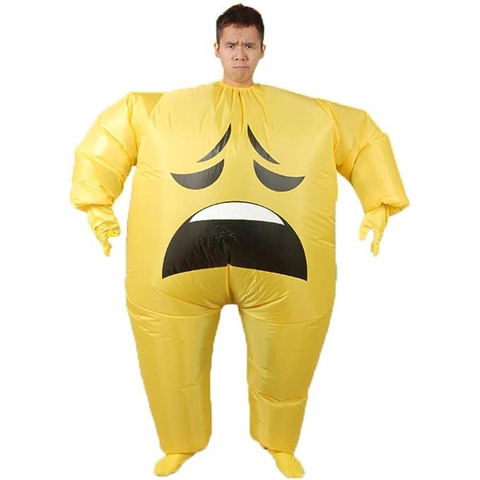 Amazon.com: Disfraz hinchable gigante de emoticonos para ...