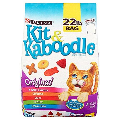 Best Dry Cat Food Kit & Kaboodle Original (22 lb) Purina Treats Favorites Wellness Feast nutrition Gourmet