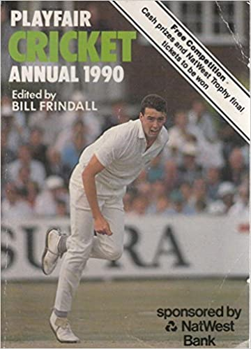 Playfair Cricket Annual 1990