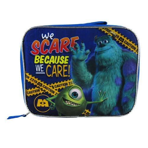 Officially Licensed Disney Pixar Handle Lunch Box - Monsters Inc Mike and -