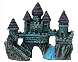 Aquariums Decorations Castle Tower Resin Cartoon Castle Ornaments Fish Tank Aquarium Decoration Accessories